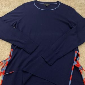 JCrew Sweater with side ties